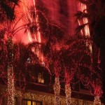 Riverside lights up for Christmas