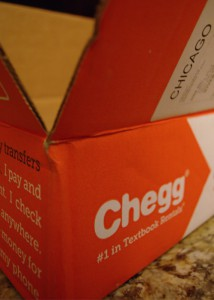 Jessica Bills -- Chegg is an online retailer students use for textbooks as it offers reasonable prices and variety.
