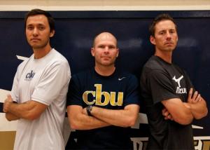 Zac Mullings -- Coaches Branden Higa, Jarrod Olsen and Wes Schneider are taking over women's volleyball, women's basketball and men's volleyball respectively,