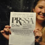 PRSSA making strides