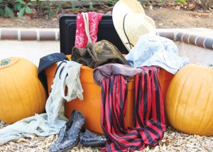 Fletcher Perkins -- With a little bit of creativity and a lot of research, students can save some money creating their own Halloween costumes. Everyday wardrobe items and other accessories can be vital in achieving a spooky or spunky look.