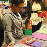 Packing party yields over 180 Christmas shoeboxes