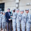 ROTC honored by Ellis after victory