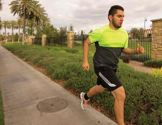Lauren Koski  | Banner Saul Sanchez, sophomore international business major, has lost 35 pounds since making the choice to run an average of 30 miles a week.
