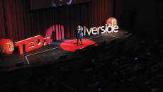 """Grammy award-winner Melissa Manchester performs a single from her upcoming album, """"You Gotta Love This Life"""", for a live audience at a Tedx event held in Riverside.  The upbeat song encourages listeners to love their lives. Courtney Coleman 