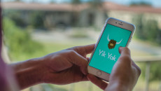 Yik Yak allows college students to converse anonymously on social media. Matthew Swope | Banner