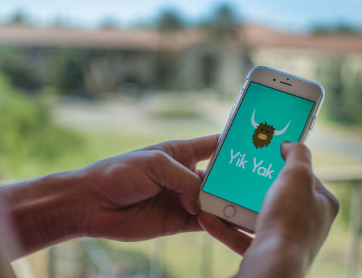 Yik Yak allows college students to converse anonymously on social media. Matthew Swope   Banner