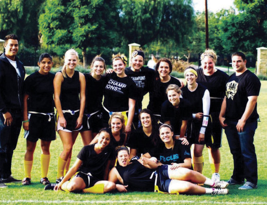 Busdriver team picture after the first game and win of the 2011 season. The team has not lost a game in five years. Courtesy of Lauren Garcia