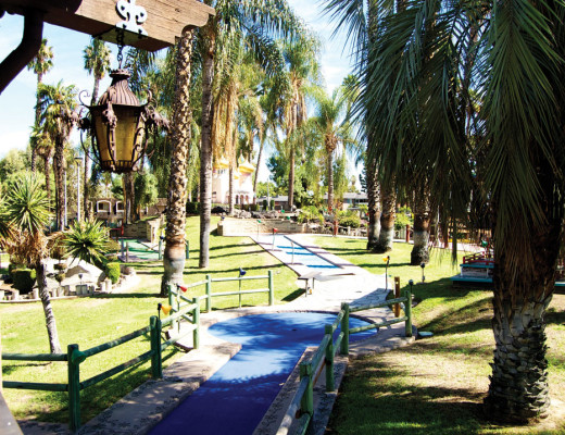 Castle Park has many activities to offer, including mini-golf, rides and arcade games that can make the first date a memorable one. Katey Ring   Banner