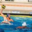 Eric Carnohan, senior history major, makes a pass against Concordia University Irvine during the Lancer Invite in the last of their four games. The Lancers went 4-0 in the tournament. Katey Lee   Banner