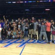 Numerous international students went to a Los Angeles Clippers game to experience an American sport during the 2014 spring semester. Previous events were held by the International Center for international students such as a trip to the pumpkin patch. Courtesy of International Center | Banner