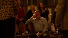Surrounded by friends and colleagues, Dr. Alan McThomas, director of the California Baptist University Counseling Cen- ter, shows emotion during a celebration of his dedtication to the center. Courtesy of Jimmy Moreno