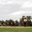 Randy Plavajka | Banner Intramural football games continue despite the possibility of heavy rain and thunderstorms.