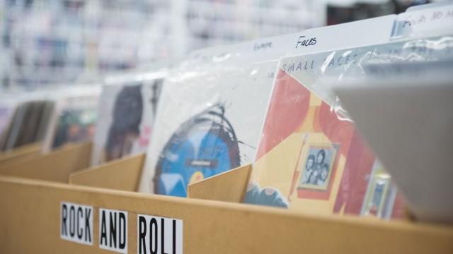 Randy Plavajka | Banner Ramal Cole, store clerk at Groovers, said rock 'n' roll is the best-selling genre.